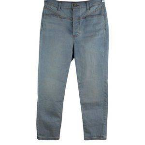 Express Mom Jean Super High Rise Button Fly 4